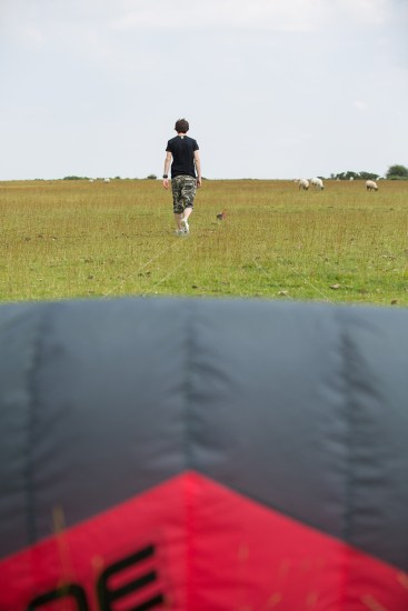 ATBShop - Learning To Power Kite - Preparing The Kite