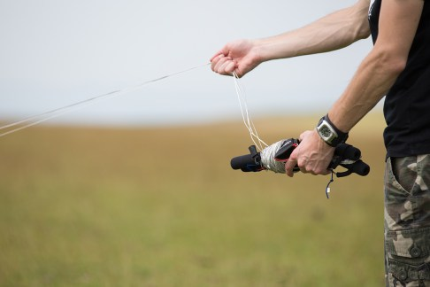 ATBShop - Learning To Power Kite - Unwrap Lines With Your Right Hand