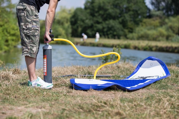 Introduction to SUP - Pumping up your paddleboard