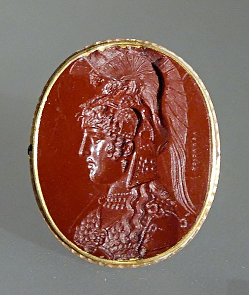 Athena on Chalcedony