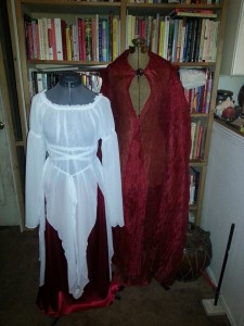 Persephone Dress and Cape