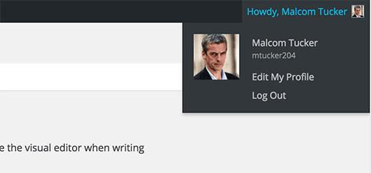طريقة تغيير إسم المستخدم الخاص بك في ووردبريس