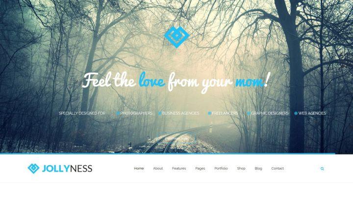 تحميل قالب Jollyness 1.0 مجانا لمواقع الشركات جوملا
