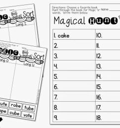 Teaching CVCE with Magic E - A Teachable Teacher [ 768 x 1024 Pixel ]