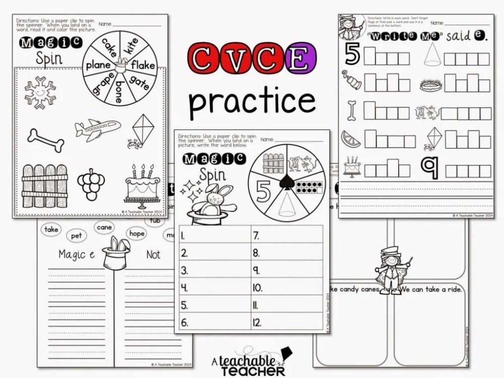 medium resolution of Teaching CVCE with Magic E - A Teachable Teacher