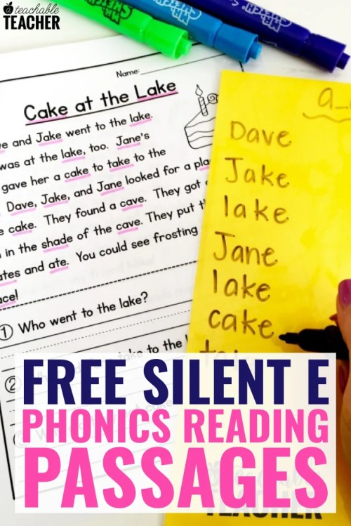 small resolution of FREE Phonics Reading Passages Students Love to Read