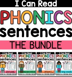 FREE Phonics Sentences Activities to Build Mastery and Fluency [ 1024 x 1024 Pixel ]