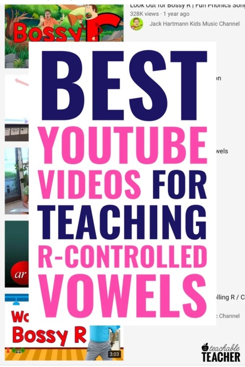 small resolution of Best Videos to Teach R-Controlled Vowels - A Teachable Teacher