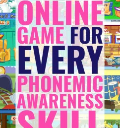 Online Phonemic Awareness Games for EVERY Skill [ 1102 x 735 Pixel ]