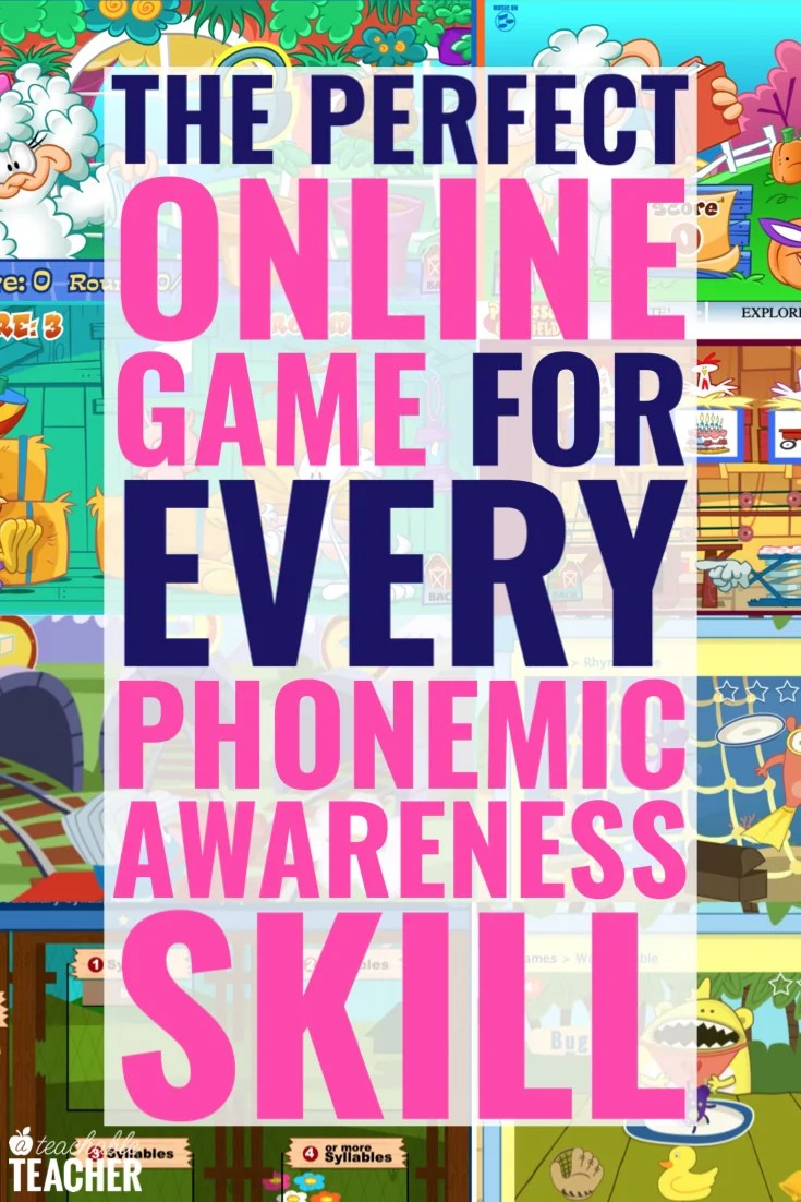 hight resolution of Online Phonemic Awareness Games for EVERY Skill