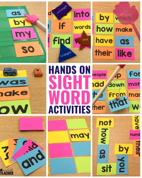 small resolution of 10 Hands-On Sight Word Activities that Your Students will BEG to do!