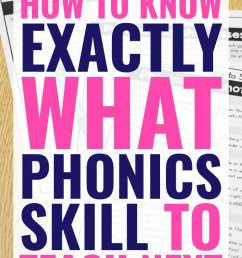 FREE Phonics Assessment: How to Know Exactly what to Teach Next [ 1102 x 735 Pixel ]