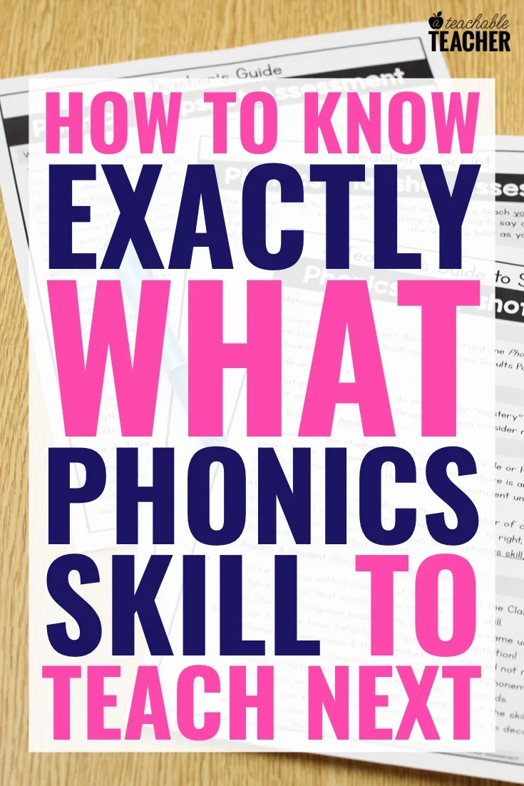 medium resolution of FREE Phonics Assessment: How to Know Exactly what to Teach Next