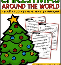 Christmas Holidays Around the World Reading Passages - A Teachable Teacher [ 2249 x 1499 Pixel ]