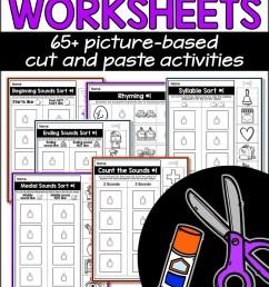 Phonemic Awareness Worksheets - A Teachable Teacher [ 2249 x 1499 Pixel ]