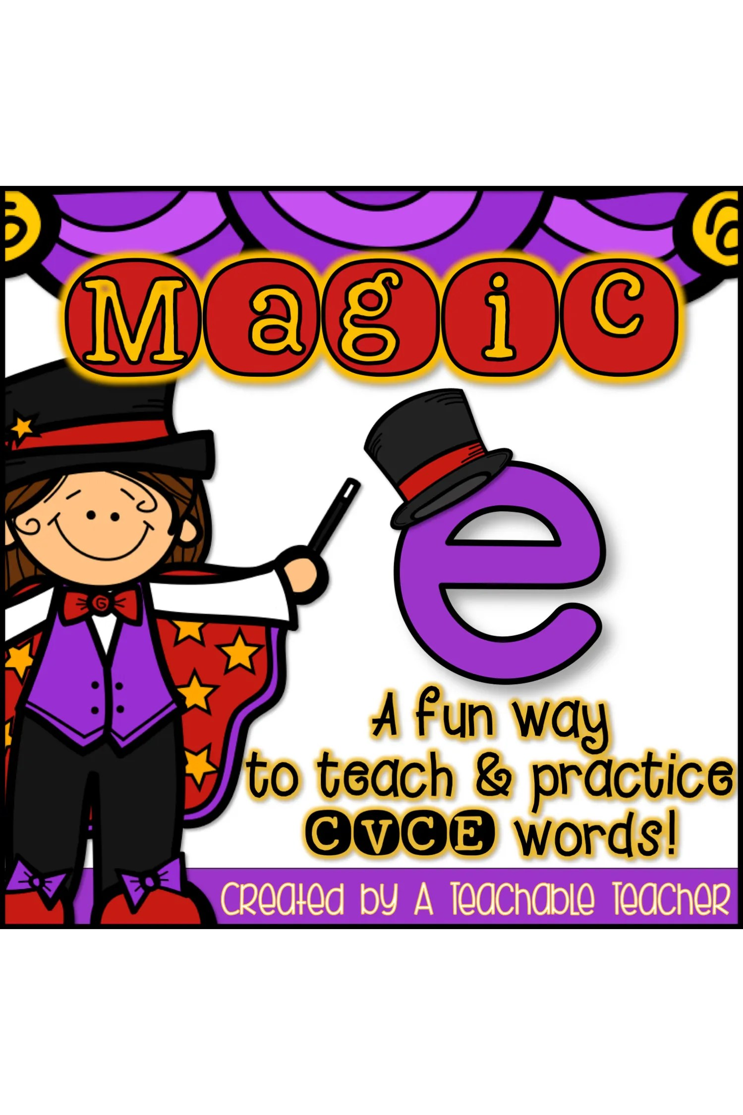 hight resolution of The Ultimate List of CVCe Words - A Teachable Teacher