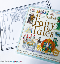 How to Use Fairy Tales in a 5th-Grade Classroom - A Teacher's Wonderland [ 1024 x 1024 Pixel ]
