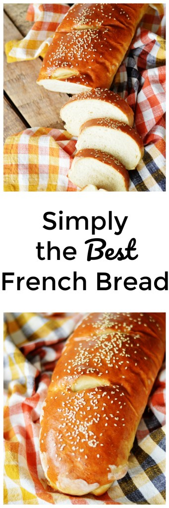 Simply the Best French Bread by A Teaspoon of Home