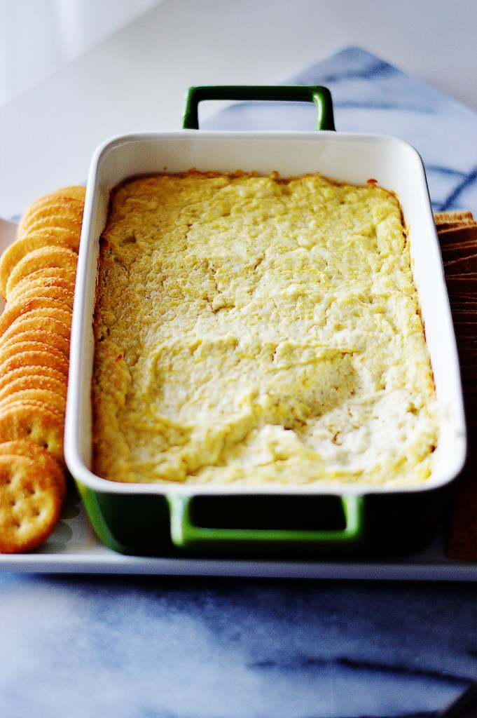 Creamy Artichoke Dip by A Teaspoon of Home