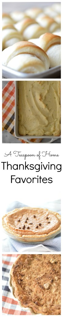 Thanksgiving Favorites by A Teaspoon of Home