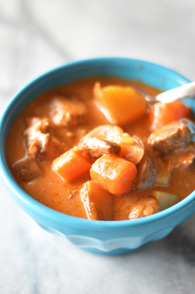 Slow Cooker Park City Stew by A Teaspoon of Home