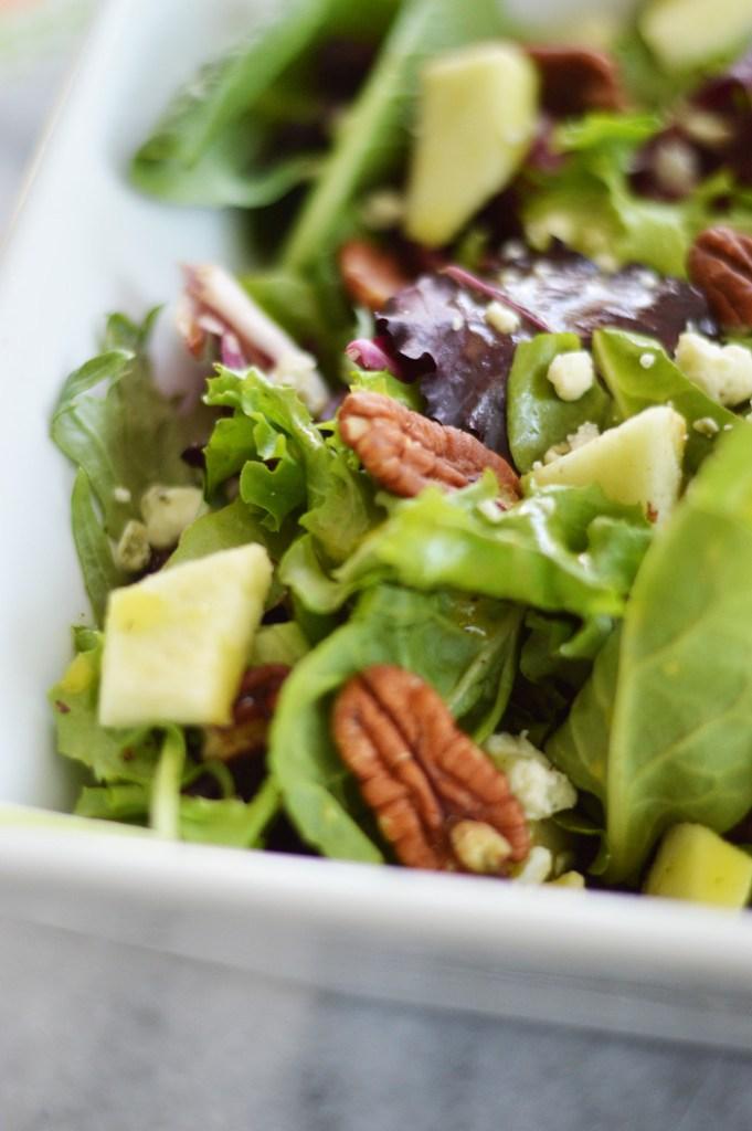 Fresh Arugula Apple Salad by A Teaspoon of Home