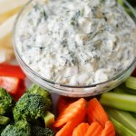 Creamy Spinach Dip by A Teaspoon of Home
