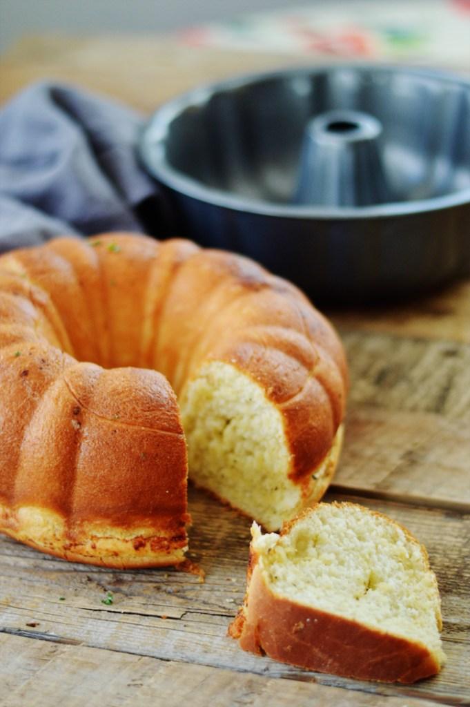 Basil Swirl Bread by A Teaspoon of Home