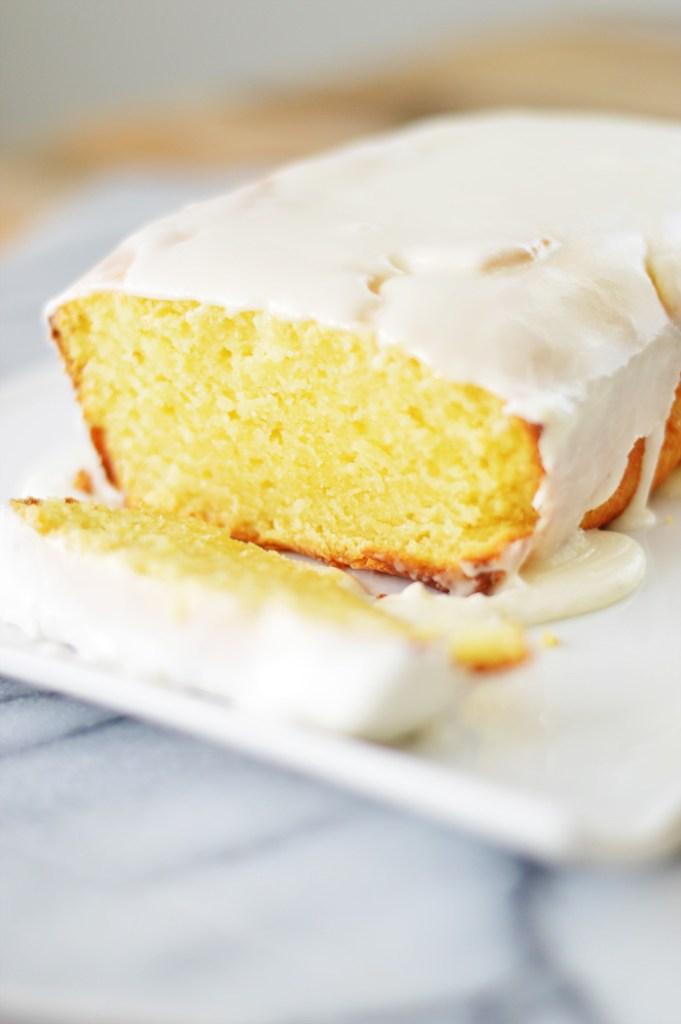 Lemon Loaf Cake by A Teaspoon of Home