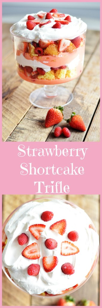 Strawberry Shortcake Trifle by A Teaspoon of Home
