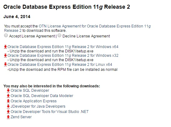 Download and Install Oracle Application Express (APEX) from OTN