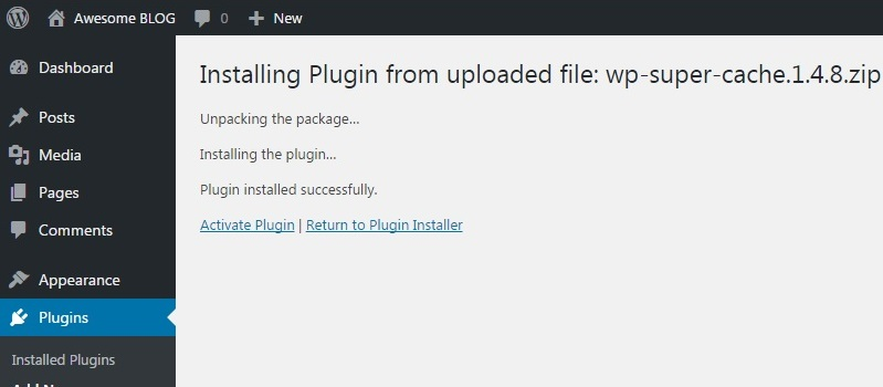 2 Ways to Install WordPress Plugin