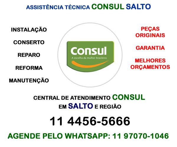 Assistência técnica Consul Salto