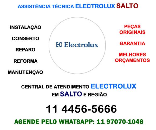 Assistência técnica Electrolux Salto