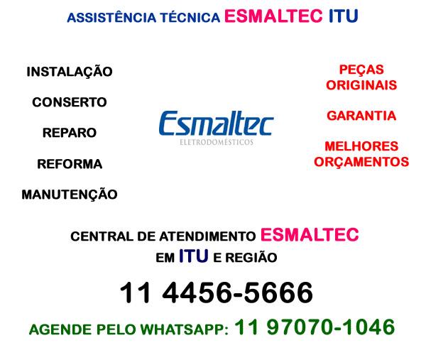 Assistência técnica Esmaltec Itu