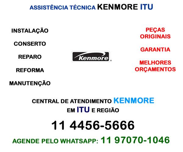 Assistência técnica Kenmore Itu