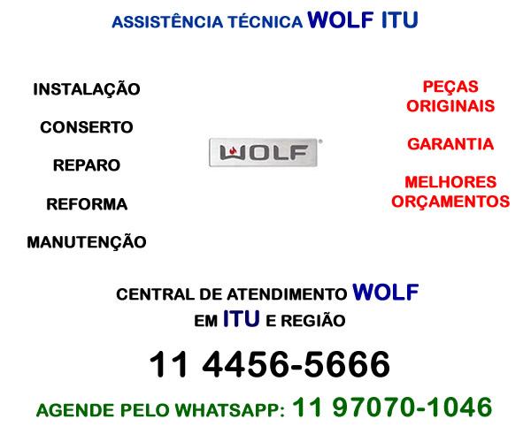 Assistência técnica Wolf Itu