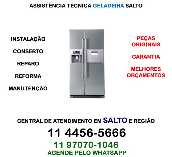 Assistência técnica geladeira Salto