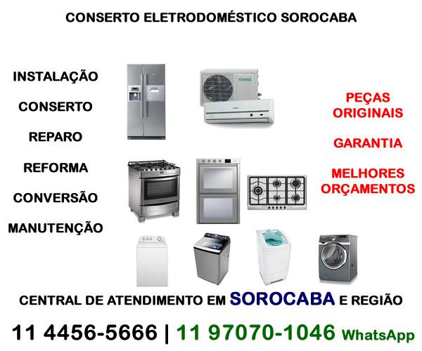 Conserto eletrodoméstico Sorocaba