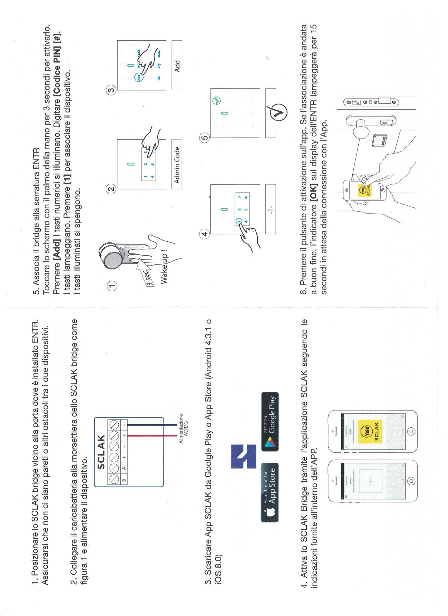 Module de connexion yale sclak bridge pour comunication