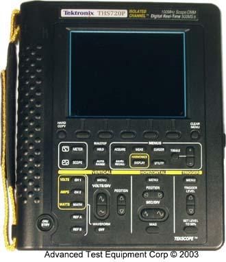 THS720  Tektronix Oscilloscopes  ATEC Rentals