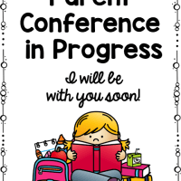 Parent Conferences - Freebie