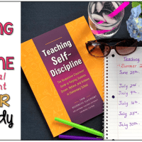 Teaching Self Discipline - Summer Book Study!