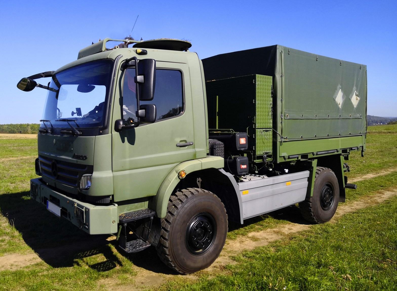 Atego 1018 A 4x4 Bundeswehr | www.Atego4x4.com