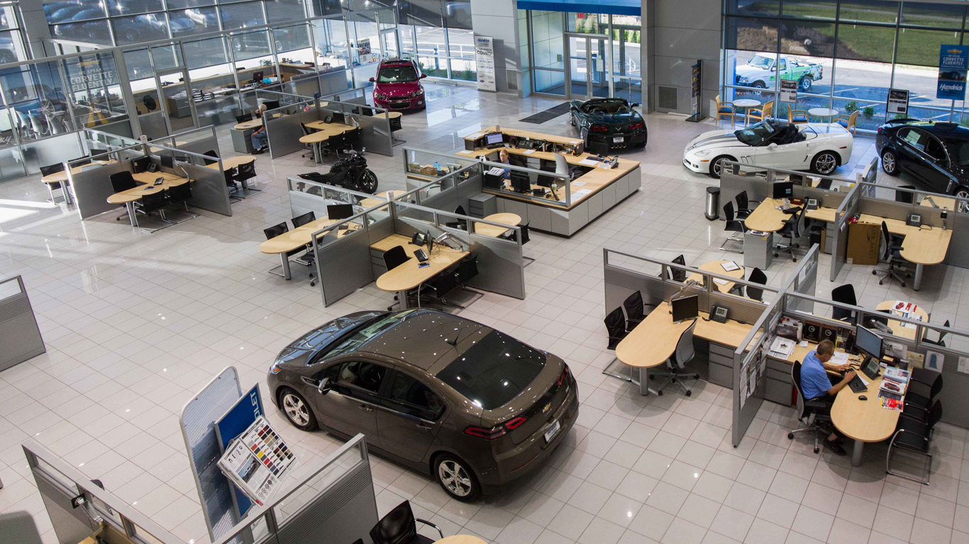 hight resolution of automotive dealerships