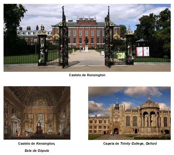 Inglaterra - Renascimento, Barroco e Rococó 7