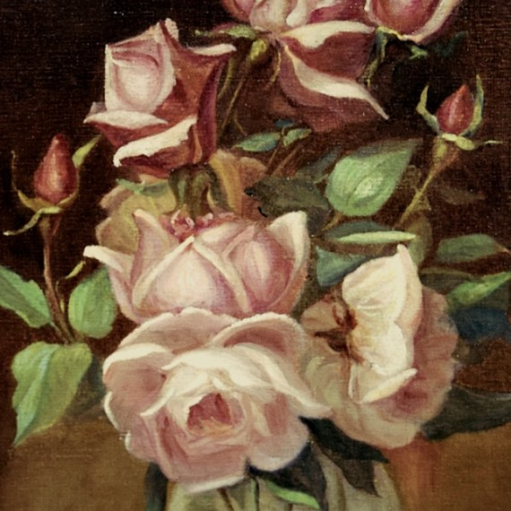 "J. Dutra: ""Vaso de Flores"""