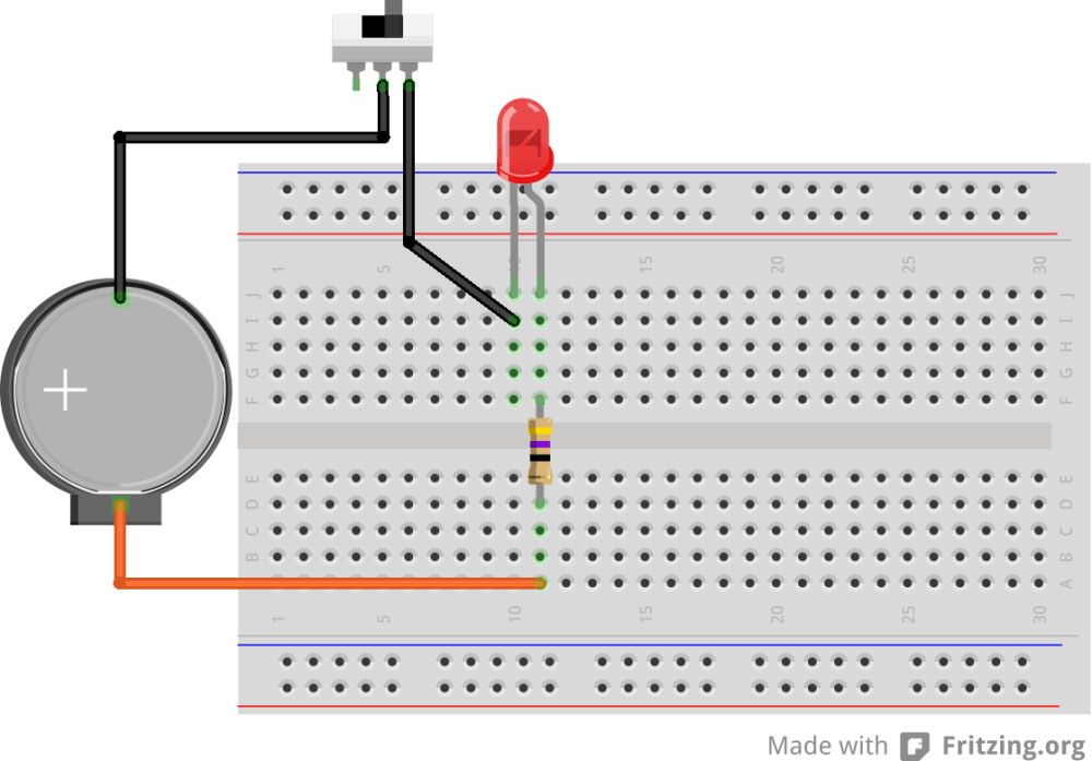 medium resolution of to fix the lantern components we solder the circuit on a piece of cardboard which