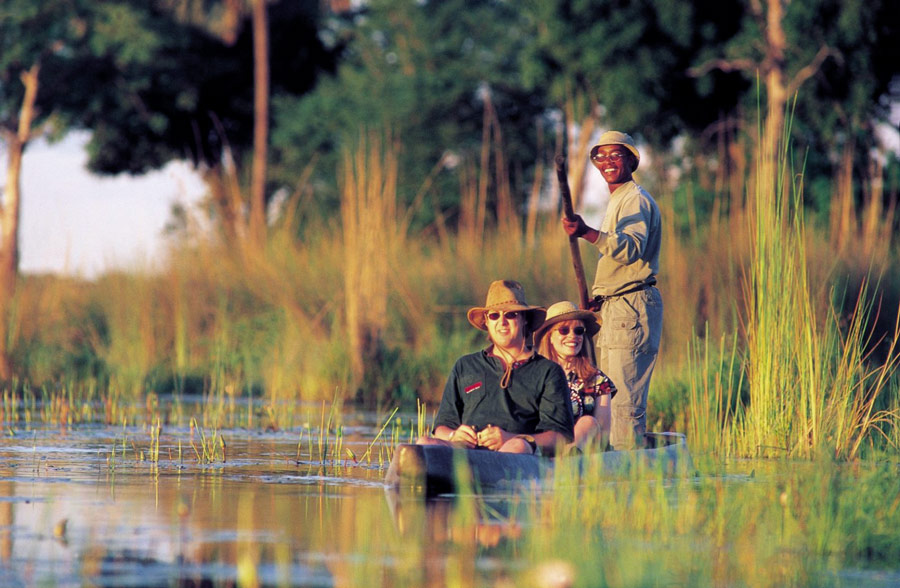 Botswana! Drifting down river is the best way to spot amazing birdlife!