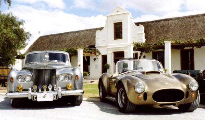 South Africa Luxury Safari - Vintage Car Wine Tour